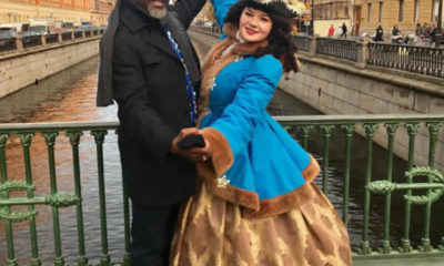 Dino Melaye with white lady