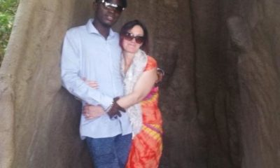 heidi and Gambian Mamadou jallow