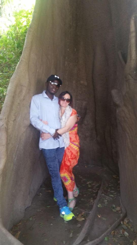 heidi and Gambian Mamadou jallow