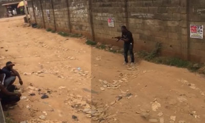police threatens to kill two
