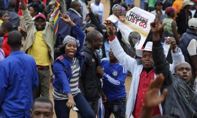 Zimbabwe people protest in Harare, they want mugabe out