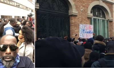 protest in Paris joined by Didier Drogba, Sonia Rolland