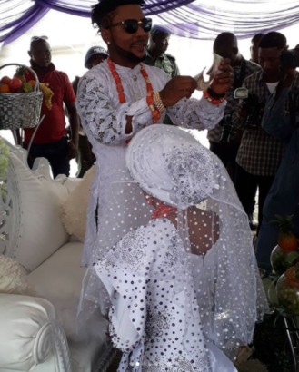 #ON2017: See beautiful photos from Oritsefemi's colourful wedding