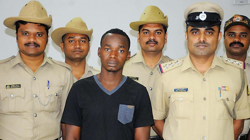 Ndubisi basil aka kelvin arrested in india for selling drug