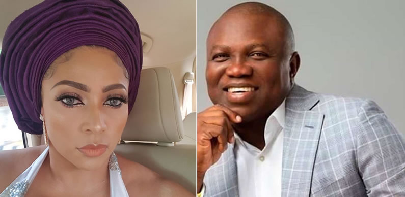Lola Okoye and Ambode