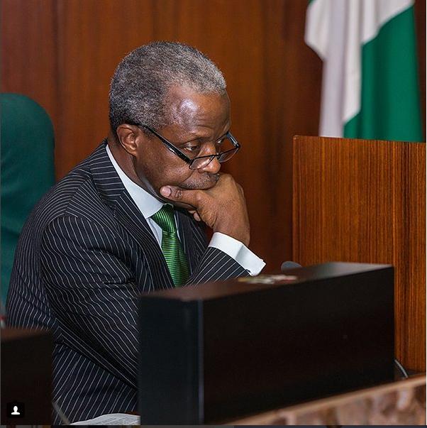 Vice President Osinbajo Forward thinking. Novo Isidoro.