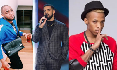 davido, tekno and drake