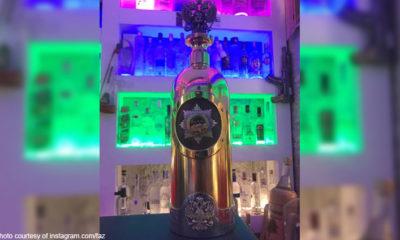 'World's most expensive vodka' bottle found after Danish bar theft