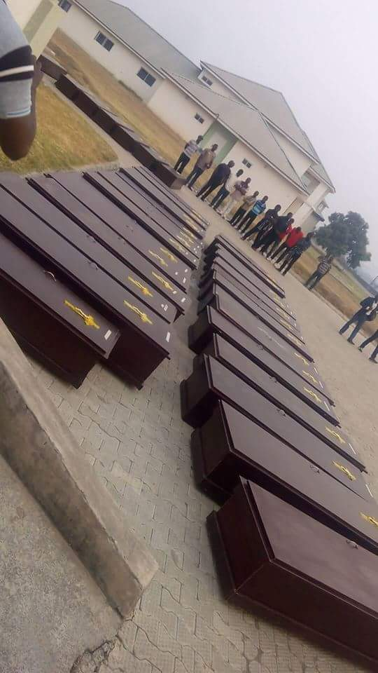 mass burial Benue #BenueMourns