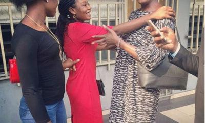 Olunloyo celebrates her freedom