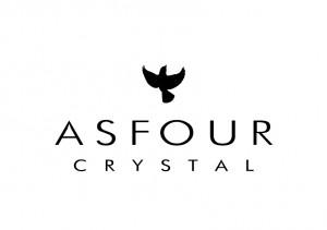 Asfour水晶徽标