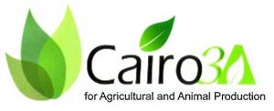 开罗农业和畜牧生产三级徽标