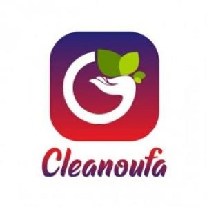 Cleanoufa徽标