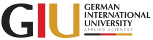 GIU- AS(德国国际应用技术大学)徽标