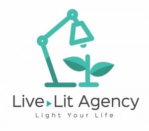 Live Lit Agency徽标