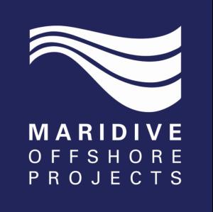Maridive海上项目徽标