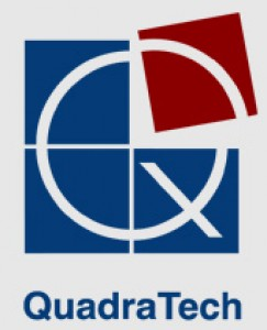 QuadraTech for Information Technology徽标
