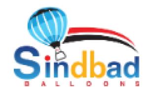 辛巴达气球徽标