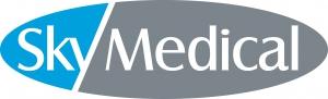 Sky Medical医疗设备徽标