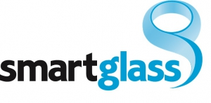 智能玻璃公司徽标