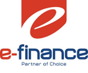 电子金融徽标