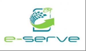电子服务徽标