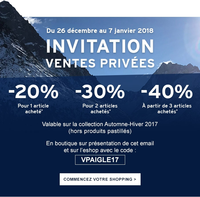 Collection Ventes La Jusqu'à Privées Aigle Invitation 40 Sur YZxO0w