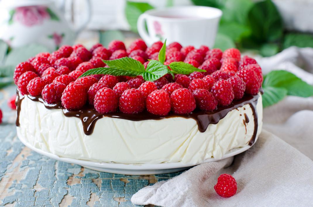 Ciasto Na Lato Sernik Na Zimno Z Owocami Przepisypl