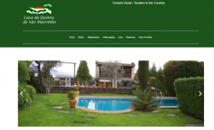 Site Casa da Quinta de São Martinho