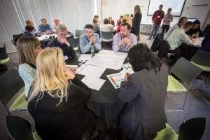 Connected Healthcare Design Challenge - teams at work