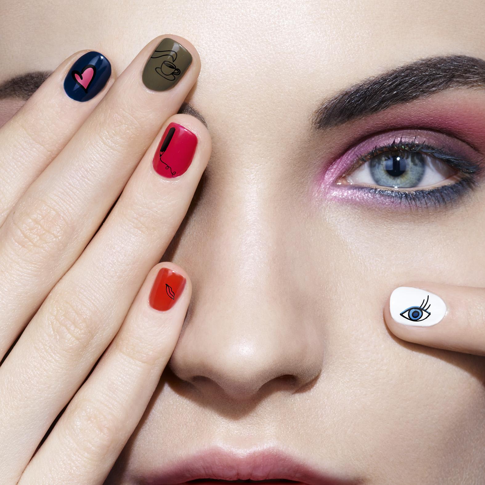 Sonia rykiel fall makeup collection