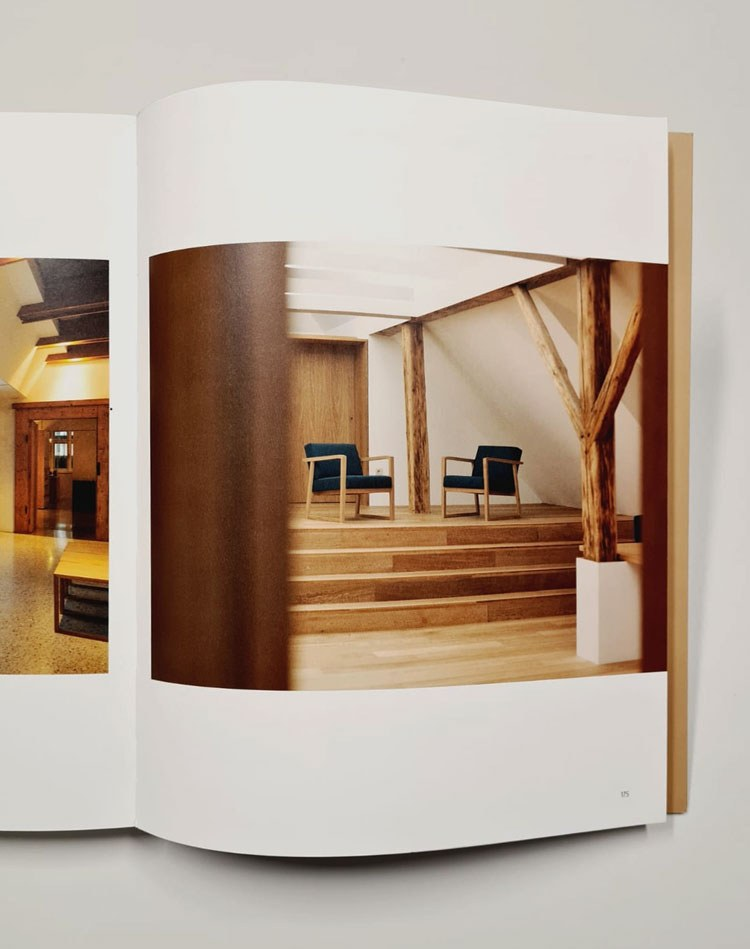 Photo on the book: Matevž Paternoster / Hiša Plečnik House​ / MUZEJ IN GALERIJE MESTA LJUBLJANE