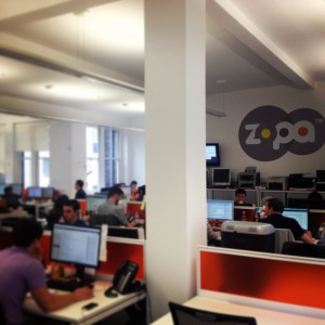 View of Zopa Offices London