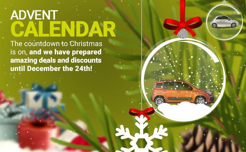 Прокат автомобилей на Рождество