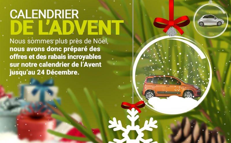 Location de voitures à Noël