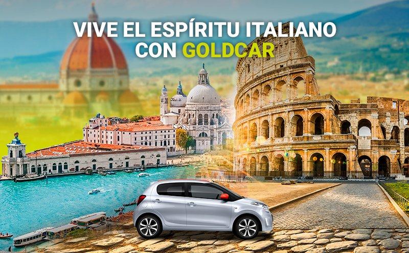 Alquiler de coches aeropuertos Italia