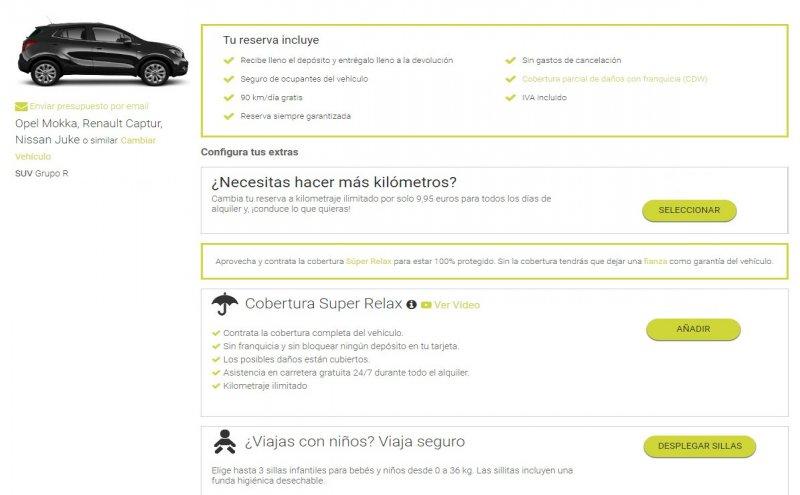 alquiler de coches a todo riesgo