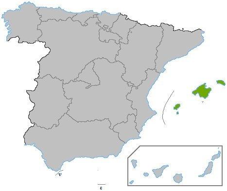 Aluguer de carros em Baleares