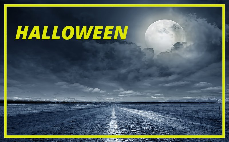 aluguer de automóveis Halloween