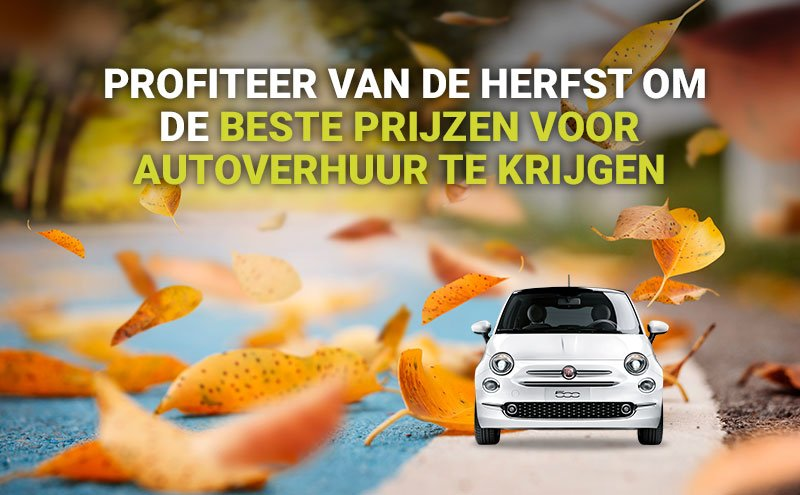 Autoverhuur in de herfst