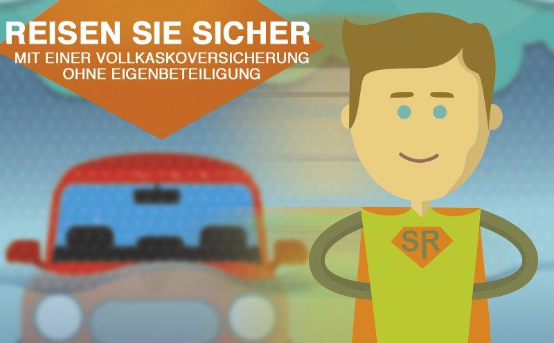 Automiete mit Vollkaskoversicherung ohne Eigenbete