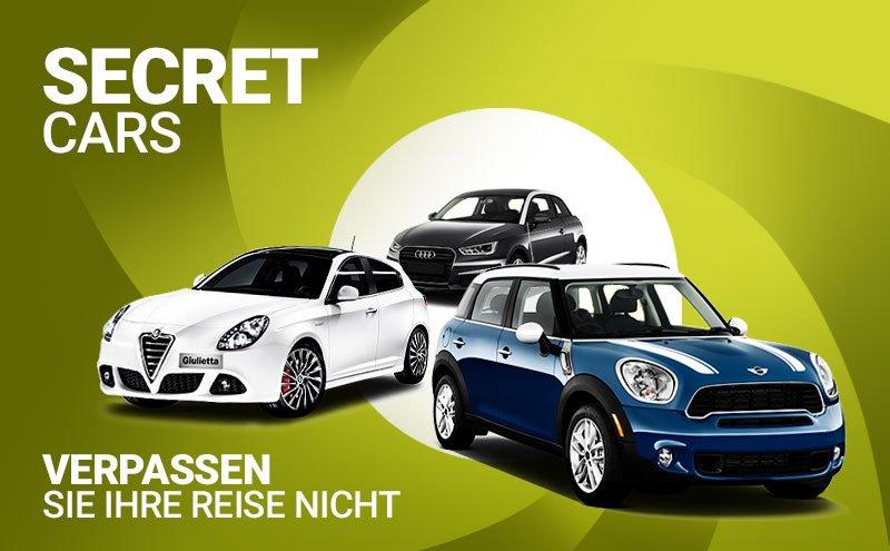 Geheime Autos in letzter Minute