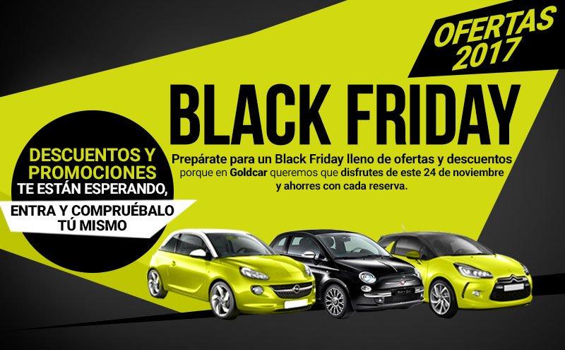Ofertas Black Friday online de alquiler de coches