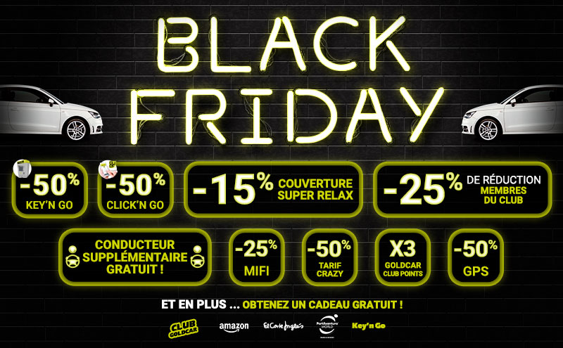 Black Friday location de voitures