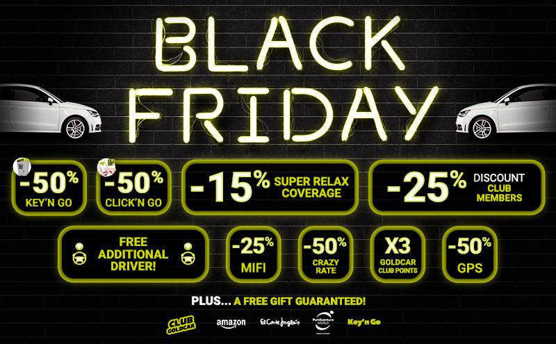 Black Friday online car rental deals