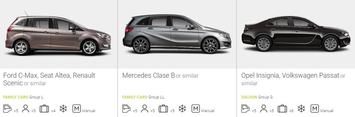 family hire car