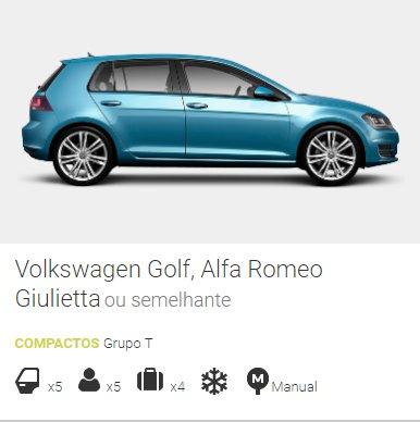 aluguer de carros online grupo T