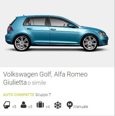 noleggio auto online gruppo T