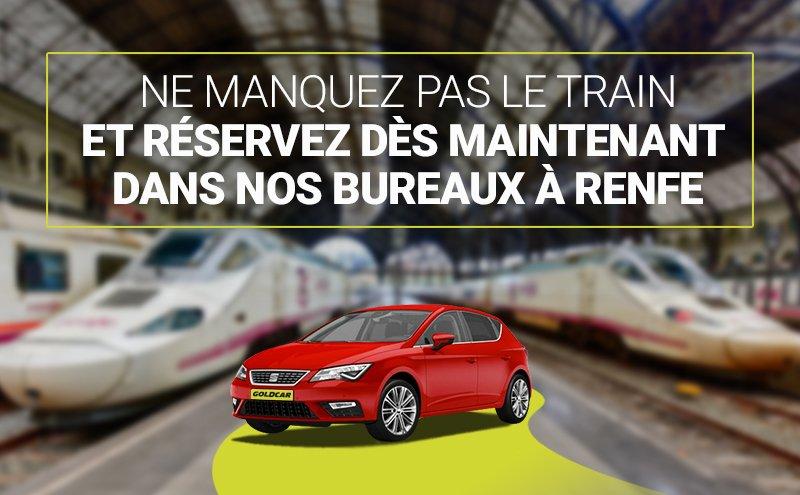 Location de voitures à Renfe
