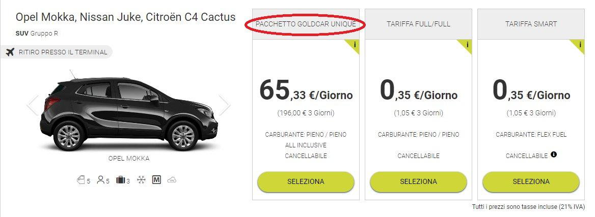 noleggio-auto-pacchetto-goldcar-unique